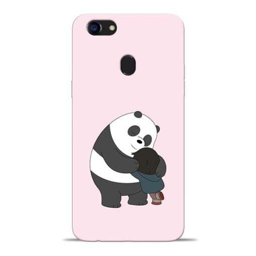Panda Close Hug Oppo F5 Mobile Cover