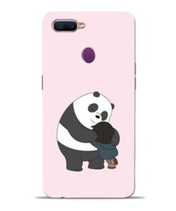 Panda Close Hug Oppo F9 Pro Mobile Cover