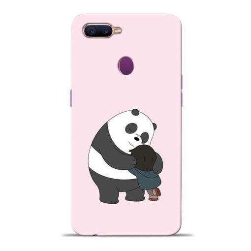 Panda Close Hug Oppo F9 Pro Mobile Cover