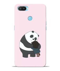 Panda Close Hug Oppo Realme 2 Pro Mobile Cover