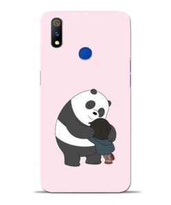 Panda Close Hug Oppo Realme 3 Pro Mobile Cover