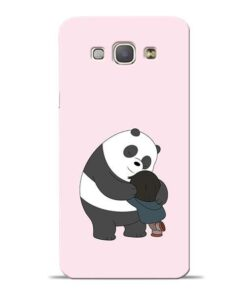 Panda Close Hug Samsung Galaxy A8 2015 Mobile Cover