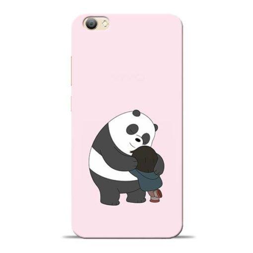 Panda Close Hug Vivo V5s Mobile Cover