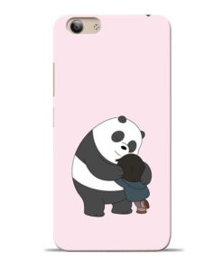 Panda Close Hug Vivo Y53i Mobile Cover