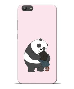 Panda Close Hug Vivo Y69 Mobile Cover