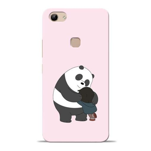 Panda Close Hug Vivo Y81 Mobile Cover