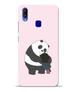 Panda Close Hug Vivo Y91 Mobile Cover