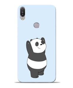 Panda Hands Up Asus Zenfone Max Pro M1 Mobile Cover