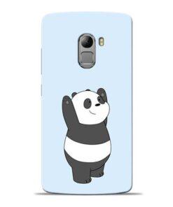 Panda Hands Up Lenovo Vibe K4 Note Mobile Cover