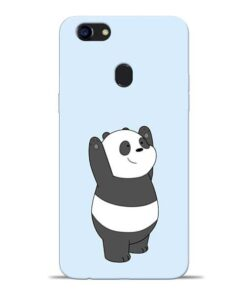 Panda Hands Up Oppo F5 Mobile Cover
