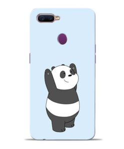 Panda Hands Up Oppo F9 Pro Mobile Cover