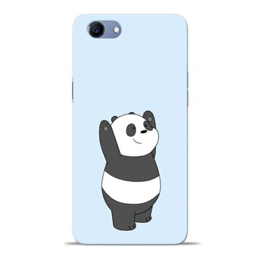 Panda Hands Up Oppo Realme 1 Mobile Cover