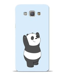 Panda Hands Up Samsung Galaxy A8 2015 Mobile Cover