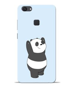 Panda Hands Up Vivo V7 Plus Mobile Cover