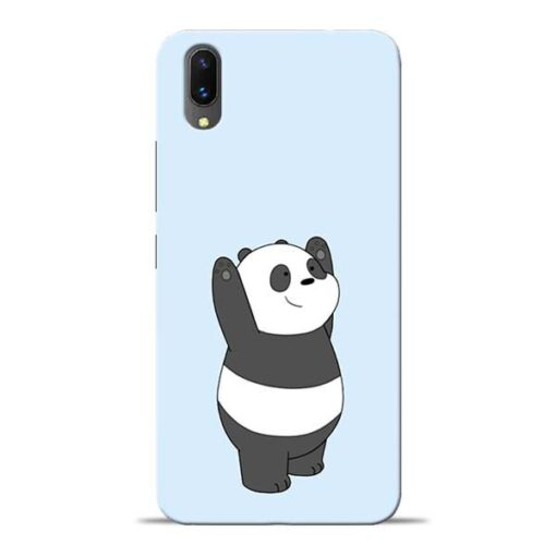 Panda Hands Up Vivo X21 Mobile Cover