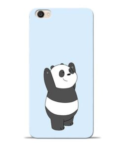 Panda Hands Up Vivo Y55s Mobile Cover