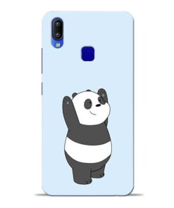 Panda Hands Up Vivo Y95 Mobile Cover