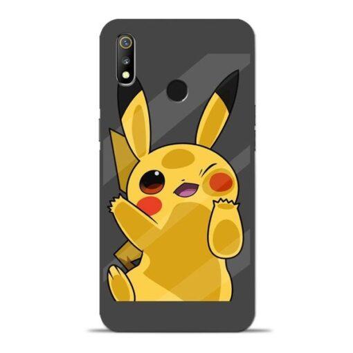Pikachu Oppo Realme 3 Mobile Cover