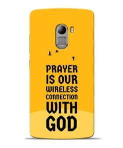 Prayer Is Over Lenovo Vibe K4 Note Mobile Cover