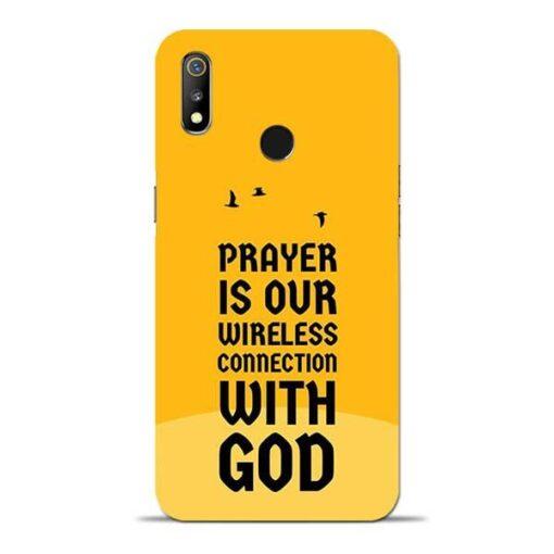Prayer Is Over Oppo Realme 3 Mobile Cover