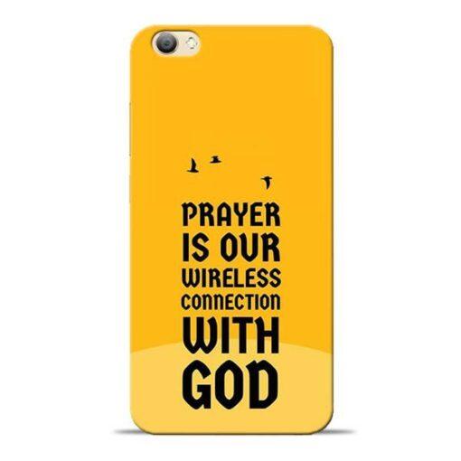 Prayer Is Over Vivo V5s Mobile Cover