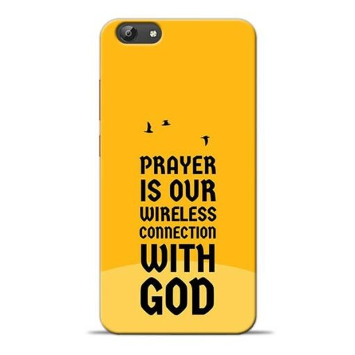 Prayer Is Over Vivo Y69 Mobile Cover
