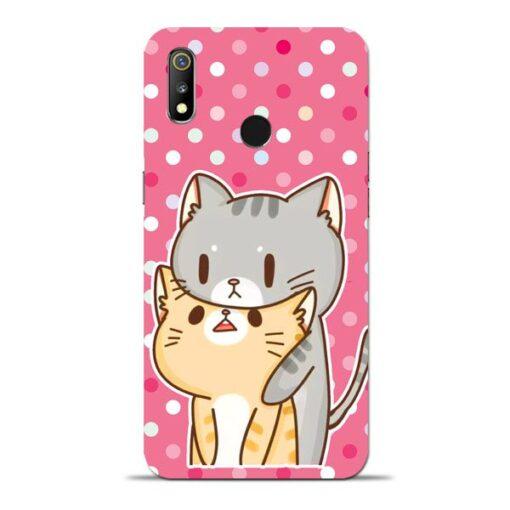 Pretty Cat Oppo Realme 3 Mobile Cover