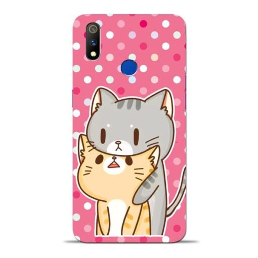 Pretty Cat Oppo Realme 3 Pro Mobile Cover