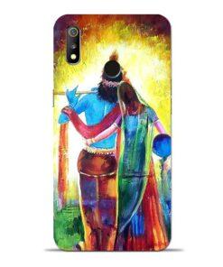 Radha Krishna Oppo Realme 3 Mobile Cover