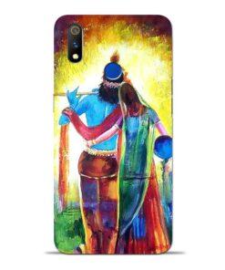 Radha Krishna Oppo Realme 3 Pro Mobile Cover