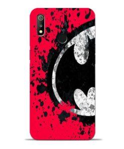 Red Batman Oppo Realme 3 Mobile Cover