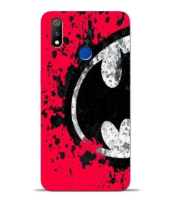 Red Batman Oppo Realme 3 Pro Mobile Cover