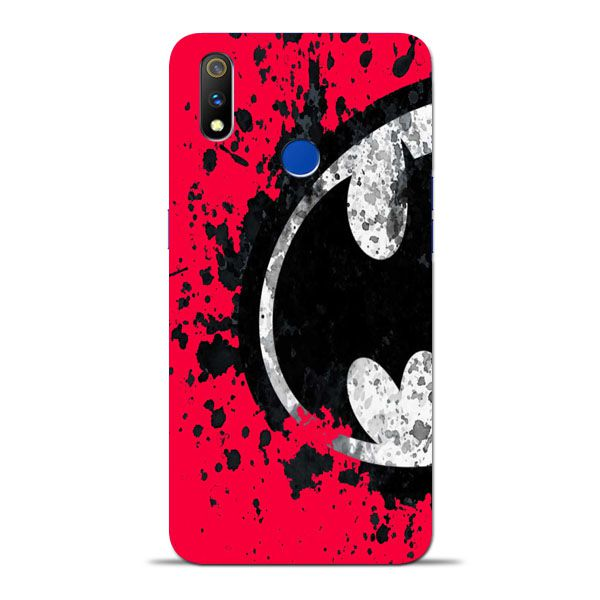 brand new 501fc 5ef21 Red Batman Oppo Realme 3 Pro Mobile Cover