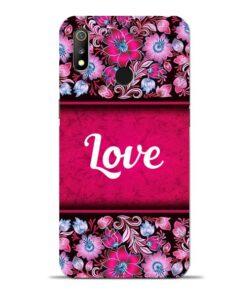 Red Love Oppo Realme 3 Mobile Cover