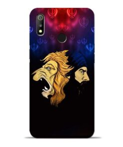 Singh Lion Oppo Realme 3 Mobile Cover