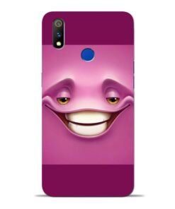 Smiley Danger Oppo Realme 3 Pro Mobile Cover