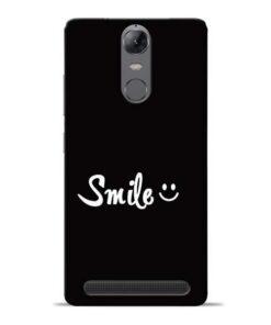 Smiley Face Lenovo Vibe K5 Note Mobile Cover
