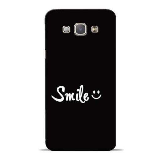 Smiley Face Samsung Galaxy A8 2015 Mobile Cover