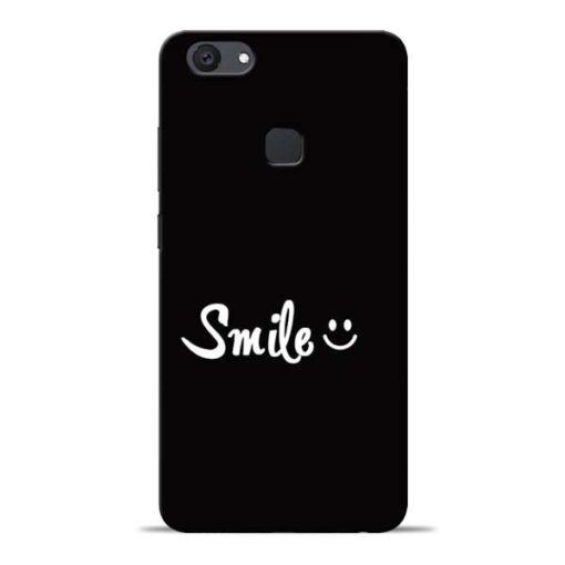 Smiley Face Vivo V7 Plus Mobile Cover