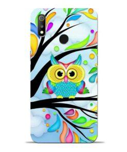 Spring Owl Oppo Realme 3 Mobile Cover