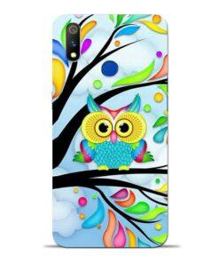 Spring Owl Oppo Realme 3 Pro Mobile Cover