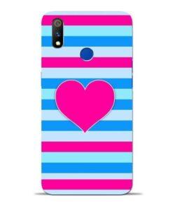 Stripes Line Oppo Realme 3 Pro Mobile Cover