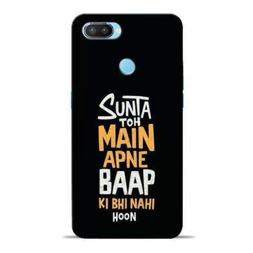 Sunta Toh Main Oppo Realme 2 Pro Mobile Cover