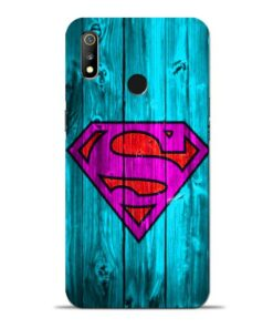 SuperMan Oppo Realme 3 Mobile Cover