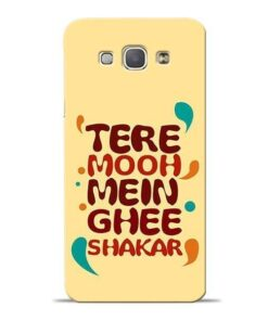 Tere Muh Mein Ghee Samsung Galaxy A8 2015 Mobile Cover