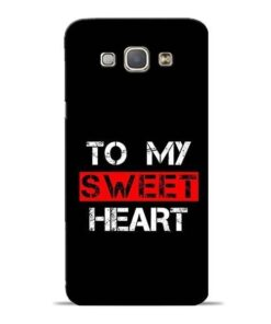 To My Sweet Heart Samsung Galaxy A8 2015 Mobile Cover
