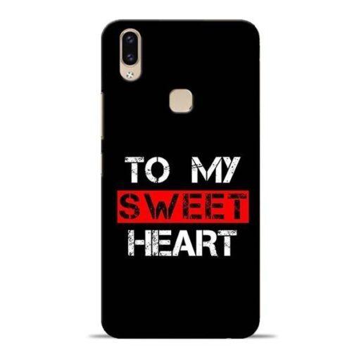 To My Sweet Heart Vivo V9 Mobile Cover