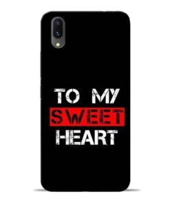 To My Sweet Heart Vivo X21 Mobile Cover