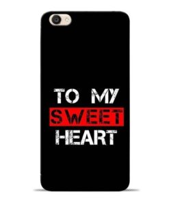To My Sweet Heart Vivo Y55s Mobile Cover
