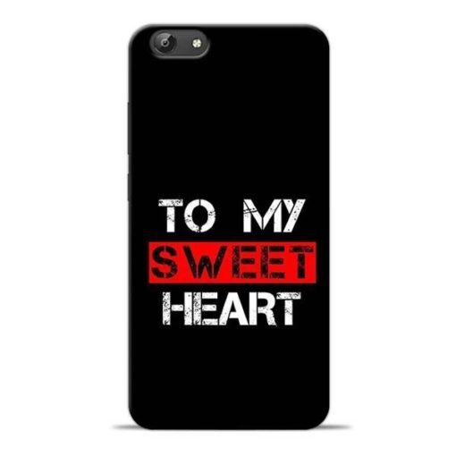 To My Sweet Heart Vivo Y69 Mobile Cover